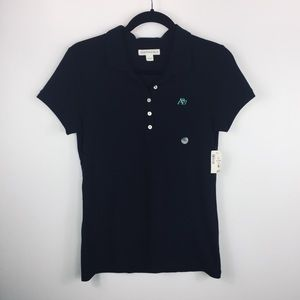 NWT BLACK POLO SHIRT BY AEROPOSTLE SIZE L